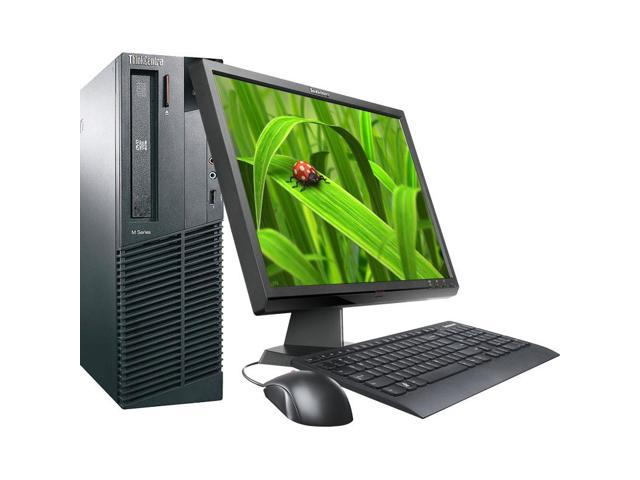 Lenovo M91p Intel i5 3100 MHz 160Gig HDD 8192mb DVD-RW Windows 7 Professional 64 Bit + 19
