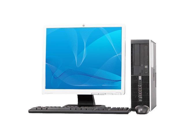 HP 8000 Elite INTEL Pentium Dual-Core 3200 MHz 250Gig HDD 4096mb DVD ROM Windows 7 Professional 32 Bit + 19
