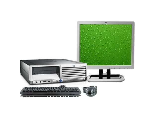 HP Compaq DC7700 Intel Core 2 Duo 1800 MHz 1 Terabyte HDD 4096mb DVD/CDRW Windows 7 Professional 32 Bit + 19