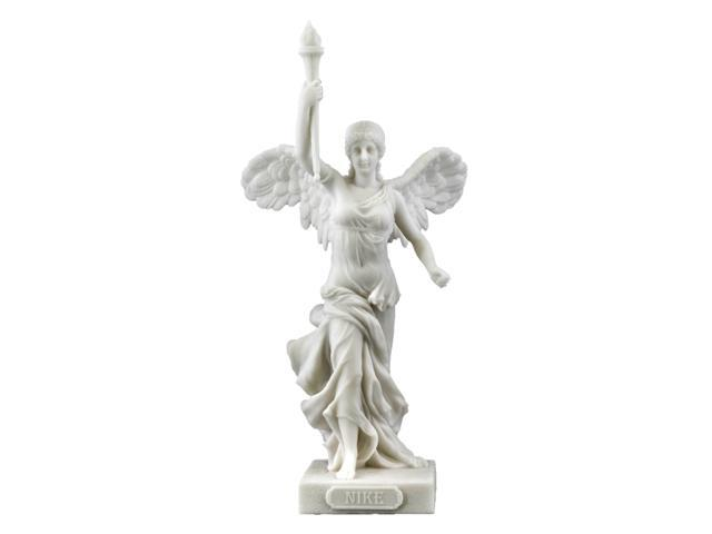 Nike Raising Torch With Right Hand (Marble White)