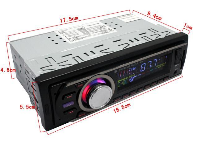 car audio/car stereo Car Multi-Functional Player New FM and MP3 Stereo Radio Receiver Aux with USB Port and SD CardSlot