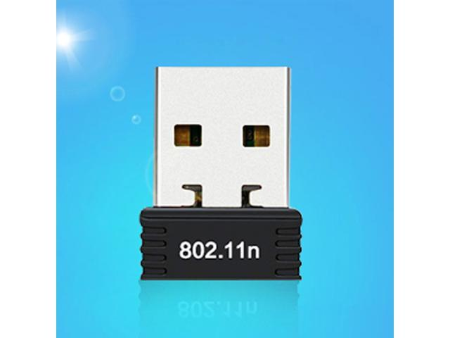 USB 2.0 Mini WiFi Wireless WLAN Network Adapter 150Mbps Dongle 2.4GHZ