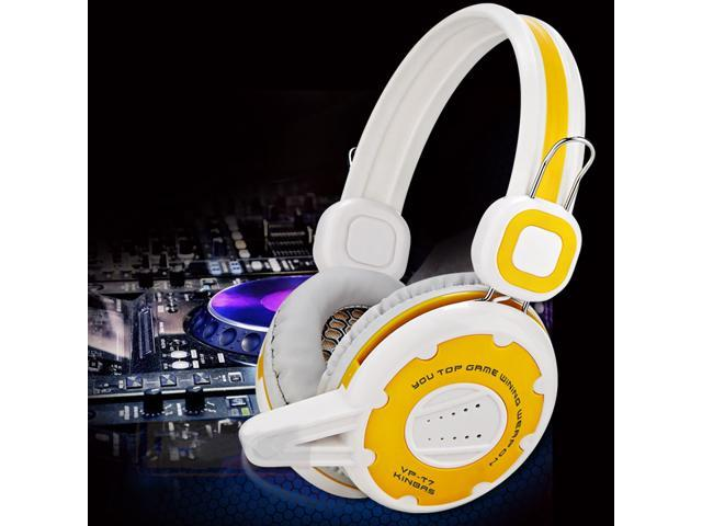 Hot Sell Pro Gaming 3.5mm Headband Headphone Headset For PC Notebook w/Mic