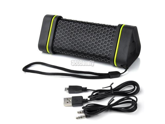 Outdoor Sports Waterproof Shockproof Wireless Bluetooth Stereo Speaker