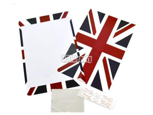 Screen Protective Cover For Ipad Mini Front+ Back Flag Skin Sticker Shell