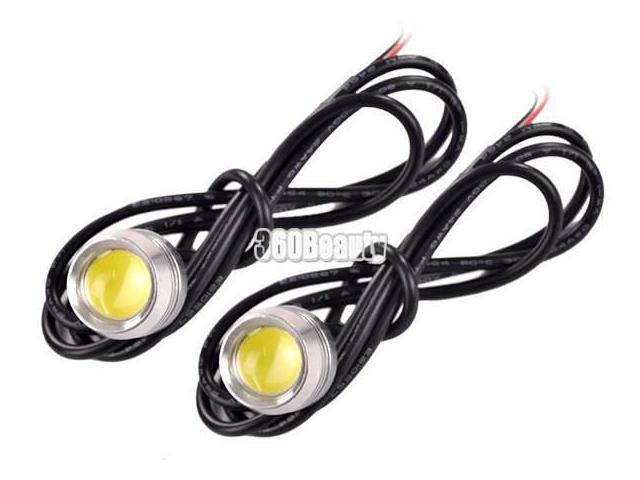 LED High Power Car Tail Back Up Reverse Light Lamp Bulb Eagle Eye White Light