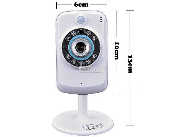 Wireless Network Surveillance Camera W/ iPhone Viewing FI-321