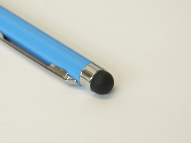 2-in-1 Sky Blue Capacitive Touch Screen Stylus with Ball Point Pen For iPhone iPad ipod Touch Samsung Galaxy Nexus LG HTC