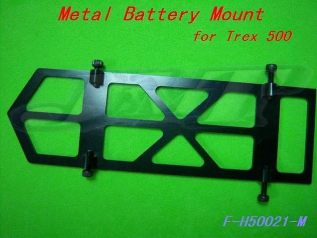F-H50021-M Metal Battery Mount for T-REX Trex 500
