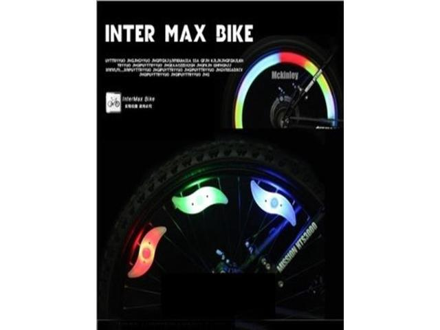 Bicycle Spokes Light Flat Strip Silicone Lamp for Outdoor Sports