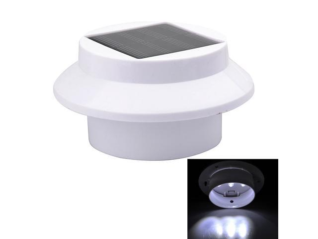 Newest SourcingBay LED Solar Powered Outdoor Gutter / Fence / Wall Light