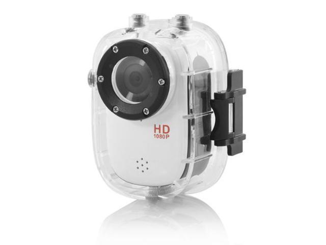 Waterproof Mini Portable Full HD Sports Camera 1080P with 30 Meters Waterproof Range SJ1000 - white