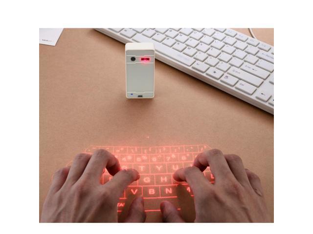 New Virtual Laser Projection Keyboard Bluetooth Wireless Touchpad Full Size Keypad