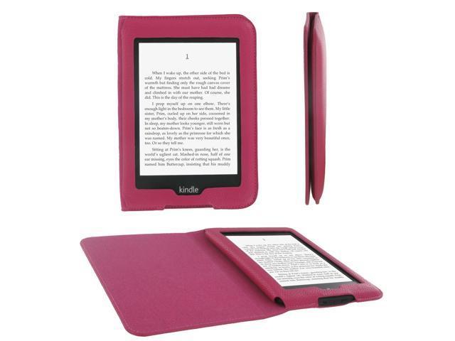 rooCASE Ultra-Slim Vegan Leather Folio Case for Amazon Kindle Paperwhite