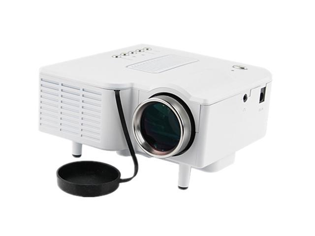 Mini Home HD LED Projector with Remote Control- 320x240, 48 Lumens, 300:1, with VGA and HDMI Port- Latest Version