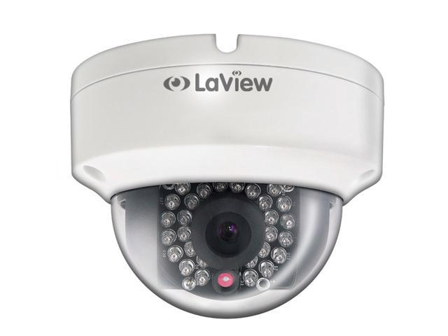 LaView LV-CDP6034 ONVIF Full HD IP CAM with 3 Megapixel 1080P Resolution 4mm Fixed Lens 90ft. IR Distance PoE