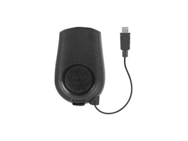 Cellet Retractable Home/Travel Charger for Samsung Galaxy Core I8262