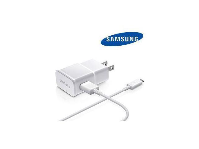 OEM Samsung Galaxy Grand 2 Micro USB Home/Travel Charger, White (ETA-U90JWE)