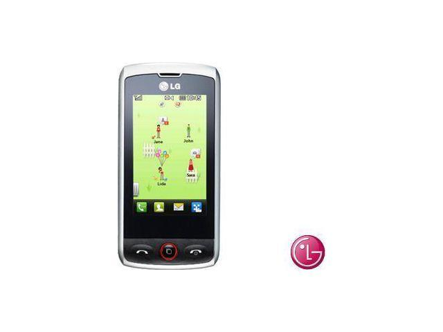 LG GW520/GW525 Unlocked Quad-Band GSM Phone, Silver