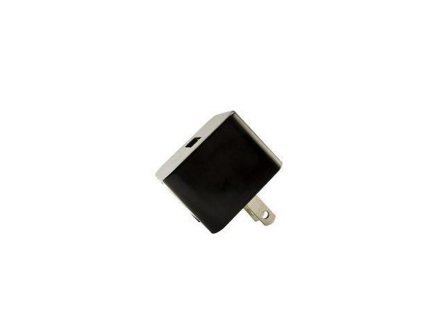 1 Amp (1000 mAh) USB Home/Travel Charger Adapter - Black