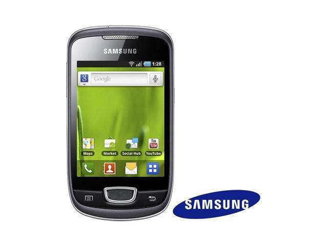 Samsung Galaxy mini GT-S5570 Unlocked GSM Android Smartphone - Steel Gray