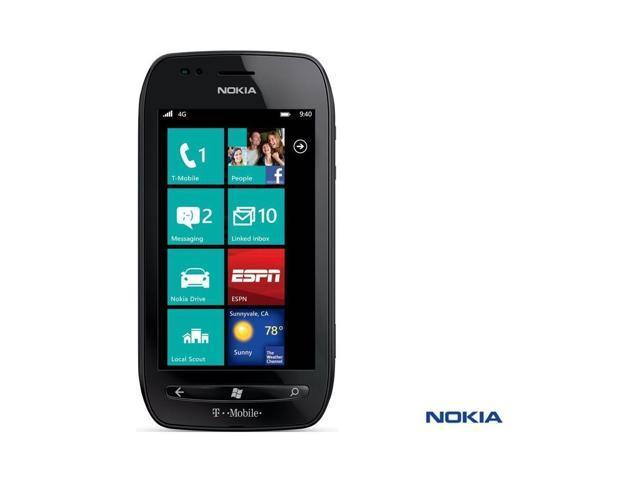Nokia Lumia 710 T-Mobile Windows Smartphone w/Touchscreen & 5.0 MP Camera