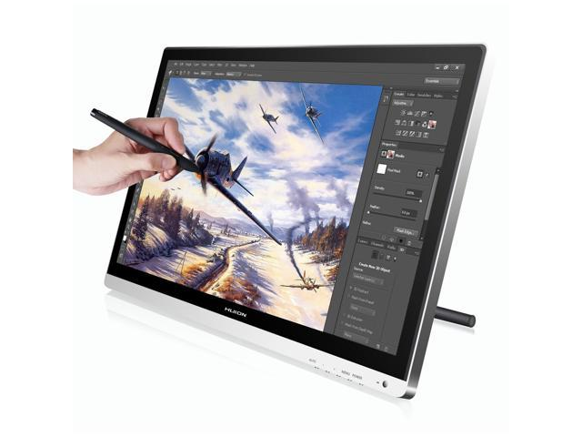 Huion Pen Monitor 21.5 Inches Pen Display Tablet Monitor with IPS Panel HD Resolution Screen Protector and Glove as Gifts- GT-220
