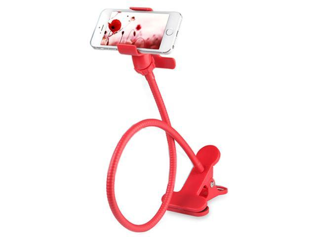 360 Rotating Mount Bed clamp Holder Stand For Iphone Samsung Cell Phone