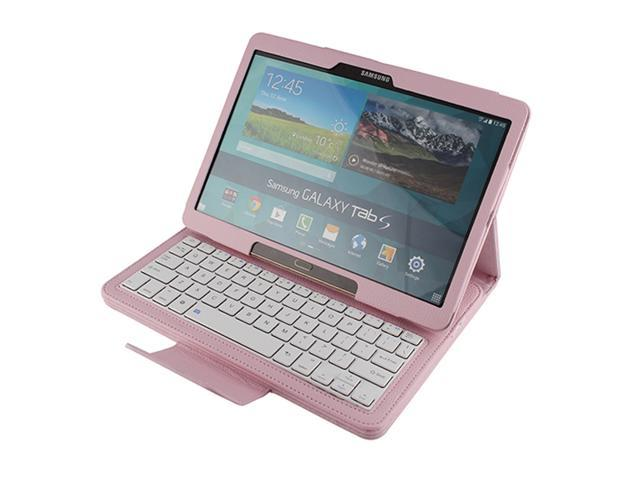 Detachable Bluetooth Keyboard With Camera Stand Case Cover For Samsung Galaxy Tab S 10.5
