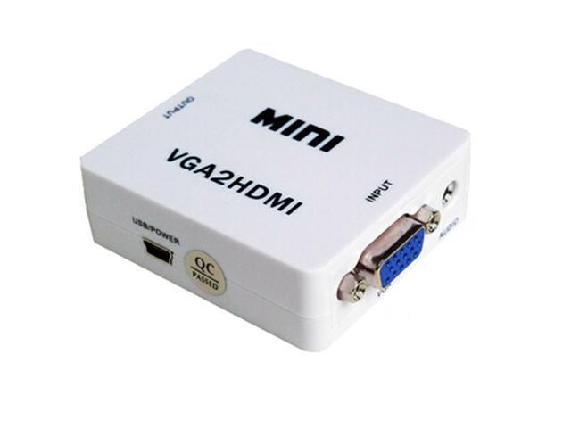 Hot Selling Full 1080P Mini VGA TO HDMI Converter VGA HDMI Adapter