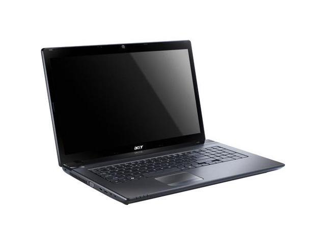 Acer Aspire Laptop AS7560-Sb416 Black 1.40GHz 4G 500G 17.3in W7HP64
