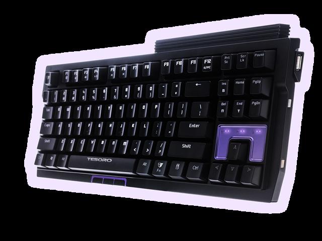 Tesoro Tizona G2N Compact Mechanical Gaming Keyboard (Black Switch)