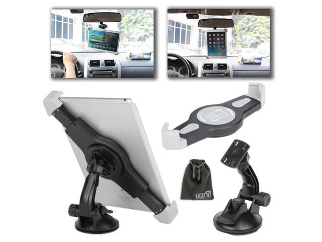 EEEKit Universal Rotating Car Windshield Suction Cup Holder Cradle Stand Mount