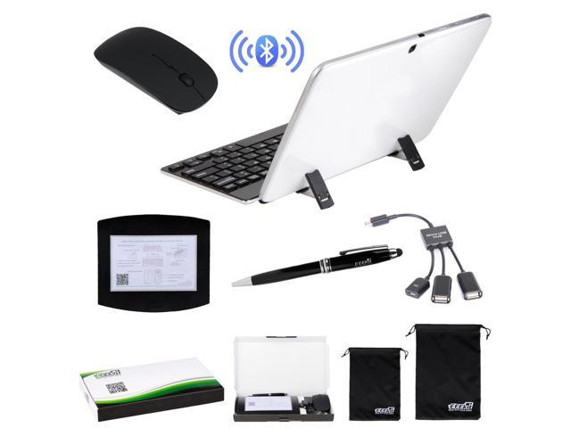EEEKit for Windows Tablet with Micro USB, Wireless Bluetooth Ketboard Mouse+OTG Cable