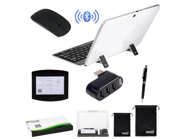 EEEKit for Windows Tablet with USB A, Wireless Bluetooth Ketboard Mouse+USB Hub