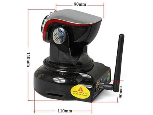 IP security Camera Wireless network WIFI wansview Surveillance cam, 720p MEGAPIXELS sensor, iPhone/iPad, Night Vision 10m, 2-way Audio, H.264, ...
