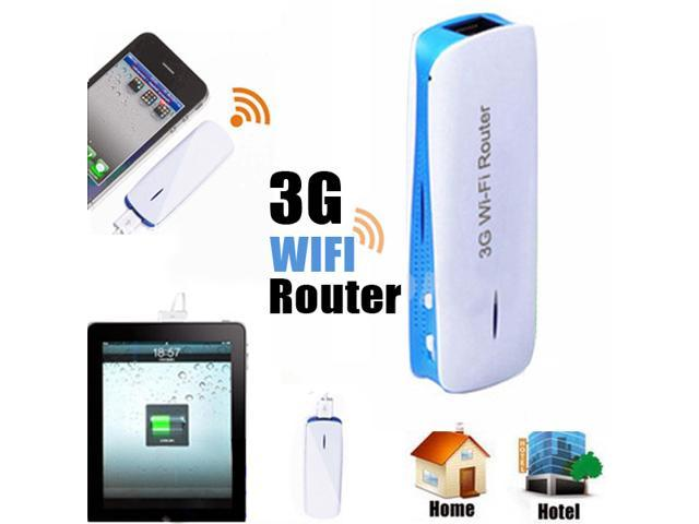 5 in 1 Mini 150Mbps 3G WIFI Mobile Wireless Router Hotspot w/ 1800mAh Powerbank