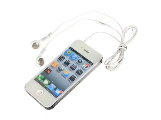 Earphone Headset headphone with Remote Mic for iPhone 5 5s 5c 4S 4G 3G 3GS iPod iPad Touch Nano White