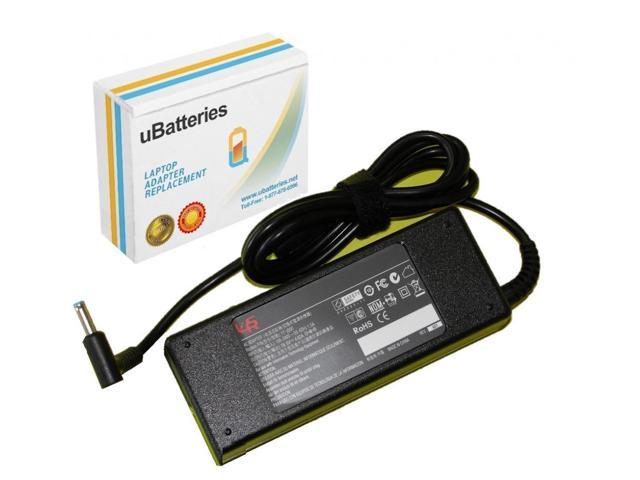 UBatteries AC Adapter Charger HP ENVY TouchSmart 14-k020us Ultrabook -19.5V, 90W