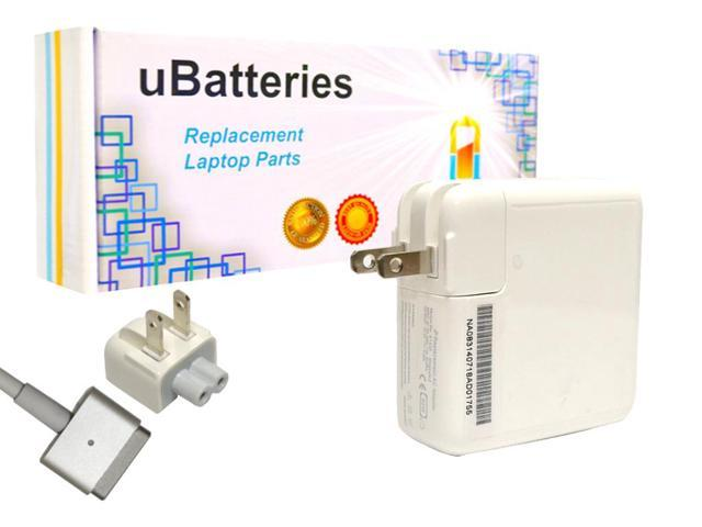 UBatteries AC Adapter for Apple MacBook MD224 (MagSafe2) - 16.5V, 60W