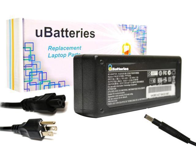 UBatteries AC Adapter Charger HP ENVY Ultrabook 6-1010ev - 19.5V, 65W