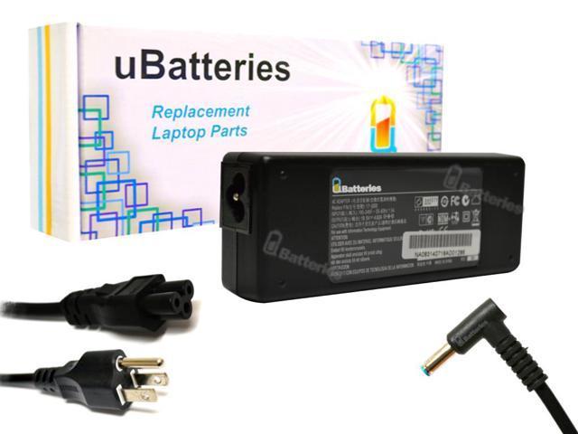 UBatteries AC Adapter Charger HP ENVY TouchSmart 14-k110nr Ultrabook - 90W, 19.5V