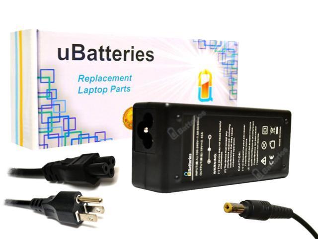 UBatteries AC Adapter Toshiba Satellite E105 E205 E305 PA3822E-1AC3 - 65W, 19V