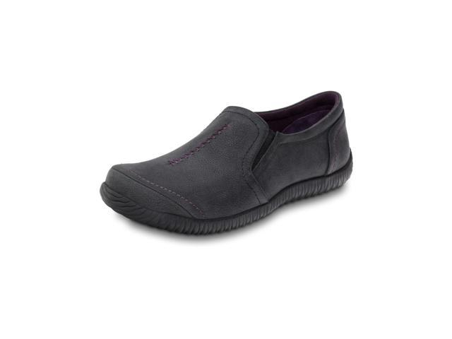 Orthaheel Zoe Casual Supportive Flat Black