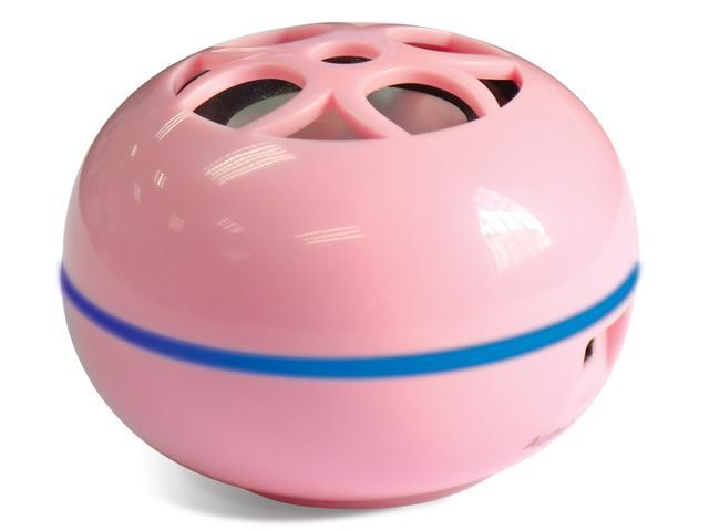 Grandmax Tweakers Teeny Portable Speaker (Pink)
