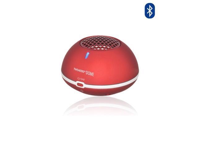 Tweakers Dome Wireless Speakers with Handsfree Mic (Red)