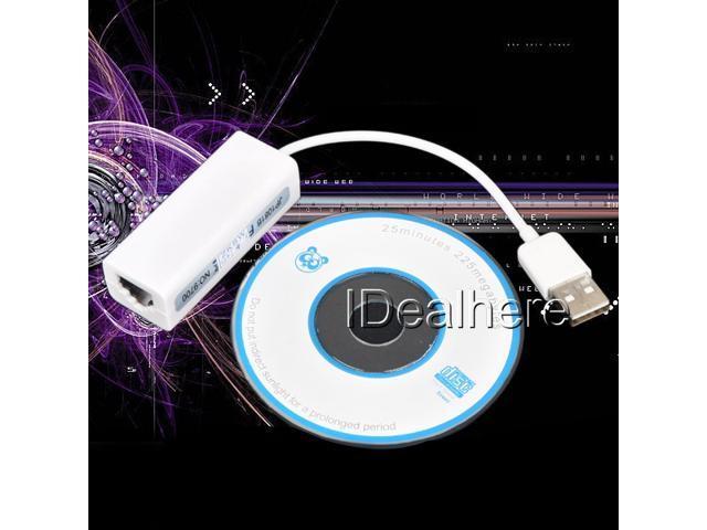 USB 2.0/1.1/1.0 LAN Female RJ45 10/100Mbps Fast Ethernet Network Adapter