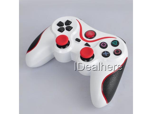 White & Red PS3 Wireless Gaming Controller for Playstation3 PS3