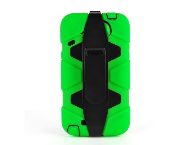 New Silicon Case With Belt Clip For Samsung Galaxy Note2 N7100