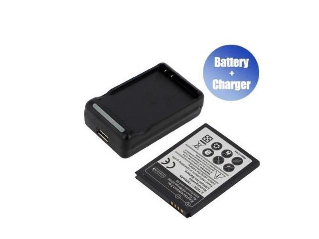 Yasurs™ Best Quanlity and Brand New Replacement Mobile / Smart Phone Battery + Charger (With USB Output) for HTC 35H00142-00M (1500 mAh)
